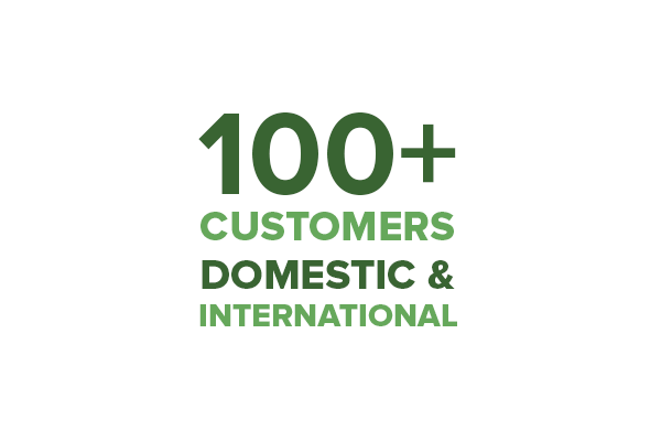 PLEXIS Customers International and Domestic